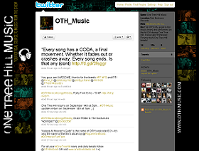 @OTH_Music on Twitter!